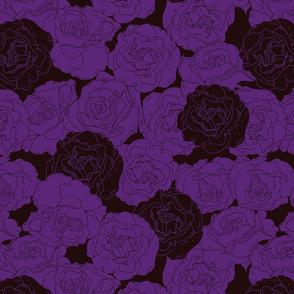 Gothic halloween roses