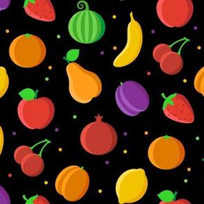 Fruits black