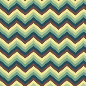 Retro zigzag
