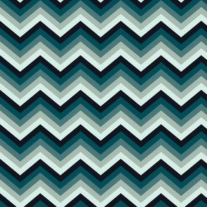 Winter zigzag