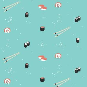 Sushi Teal
