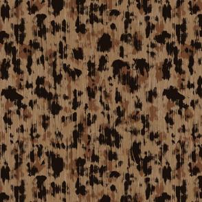 Glitch Leopard in Brown