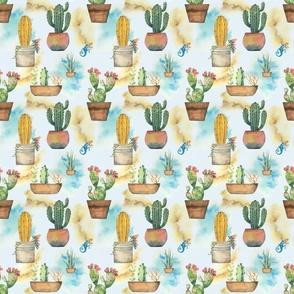 seamless cactus