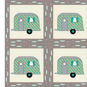 Cheater Quilt, Fill-a-Yard - Airstream1_Blue1