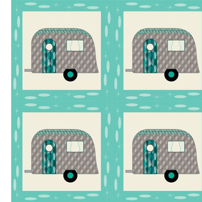 Cheater Quilt, Fill-a-Yard - Airstream1_Blue2