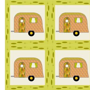 Cheater Quilt, Fill-a-Yard - Airstream1_Orange