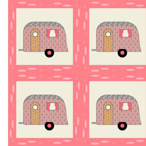 Cheater Quilt, Fill-a-Yard - Airstream1_Pink2