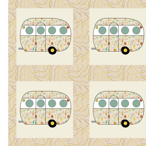 Cheater Quilt, Fill-a-Yard - Airfloat_Neutral