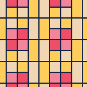 Squares | Modern stained glass tiles