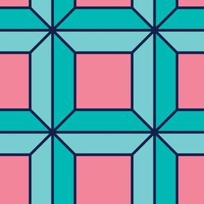 Diamonds | Modern stained glass tiles