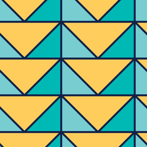 Angles | Modern stained glass tiles