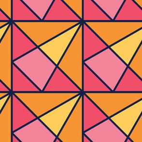 Blinks | Modern stained glass tiles
