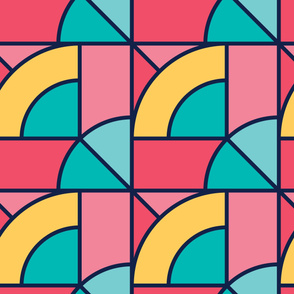 Meadow | Modern stained glass tiles