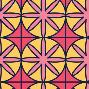 Dandelion | Modern stained glass tiles