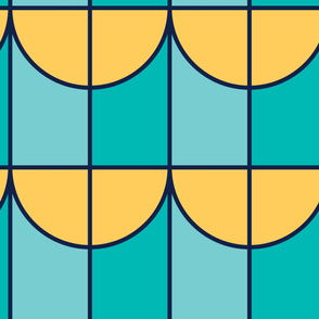 Light | Modern stained glass tiles