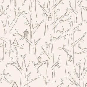 Birdhouses / khaki