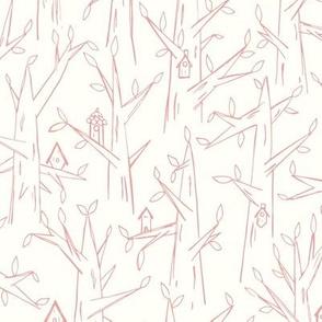 Birdhouses / pink