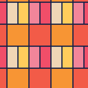 Wide Tiles | Modern stained glass tiles