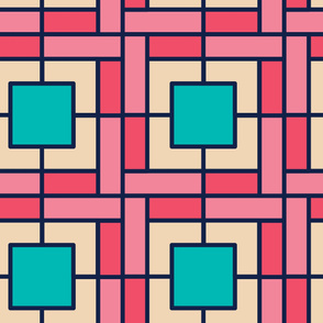 Square Tiles | Modern stained glass tiles