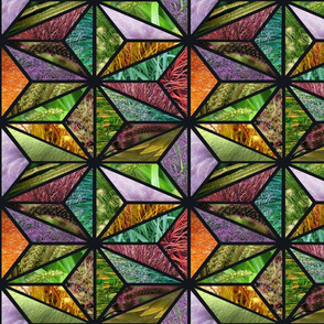 Wild Grass Stained Glass