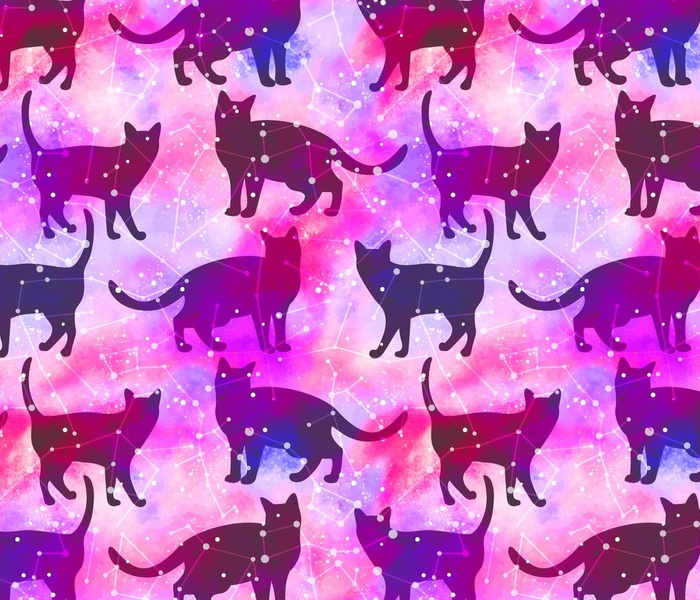 Pink Cats and Galaxies