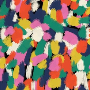Delightful Multicolor Abstract Paint