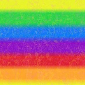 Very Rainbow! Soft Rainbow -- LARGE