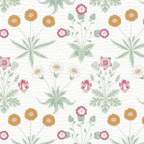 Cockatoo Floral Tropical Blossom