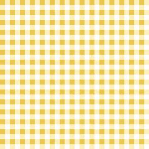 gingham yellow small