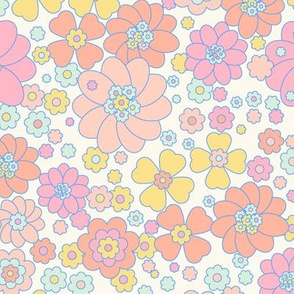 Flower Power -pop colors