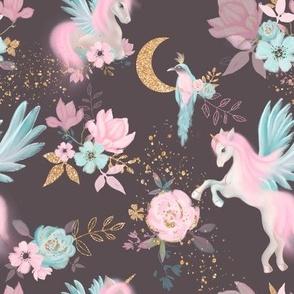 Unicorns & night garden