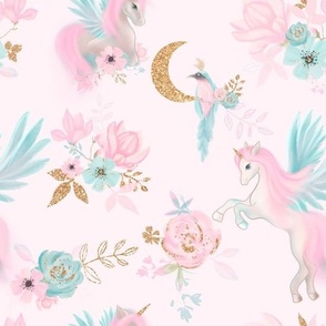 Unicorns & magnolia garden