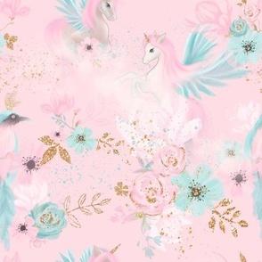 Unicorn *Pink sky