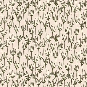 Flower Outlines -