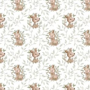 kangaroo white tile