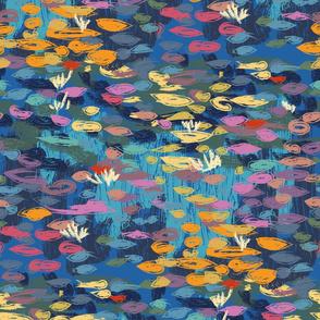 Waterlilies Cian | Impressionism