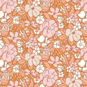 In full Bloom / pink apricot
