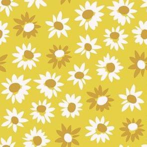 Sunflowers / gold