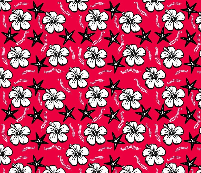 DESIGN RED TROPICAL