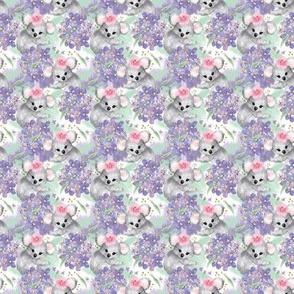 Springtime Koalas & Flowers // Mini Size