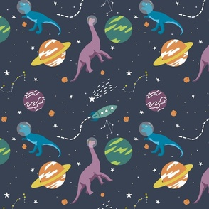 Dinos Roar in Space