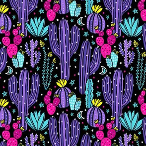 Sonoran Desert Nights (Purple)