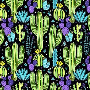 Sonoran Desert Nights (Lime)