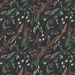 Wild grass - dark - medium