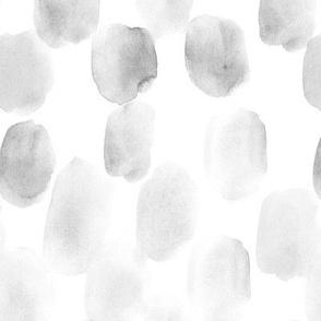 Platinum grey watercolor spots a153