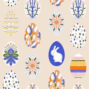 Easter eggs creamy - medium