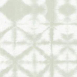 The minimalist boho shibori tie dye paint technique texture baby neutral mist green white