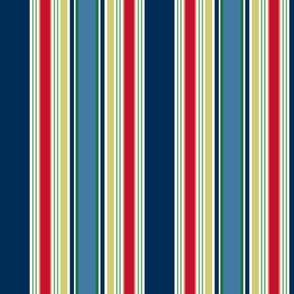 KC stripe navy