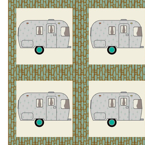 Cheater Quilt, Fill-a-Yard - Airstream2_Blue