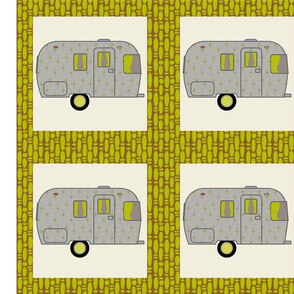 Cheater Quilt, Fill-a-Yard - Airstream2_Green